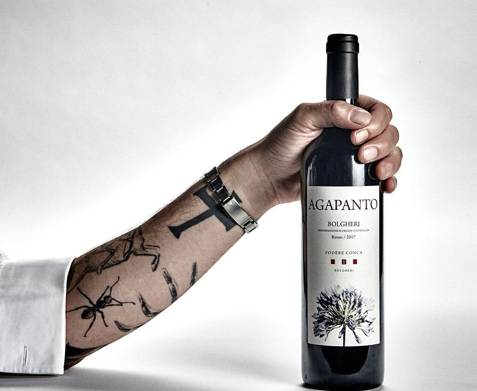 Podere Conca Bolgheri Agapanto vino rosso