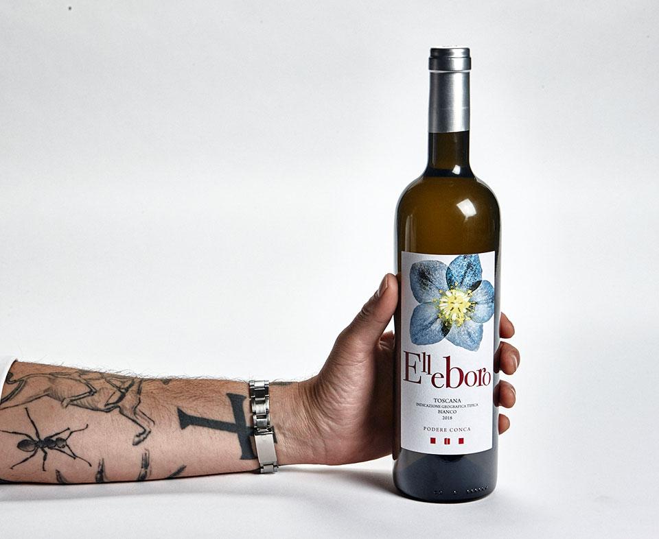 Podere Conca Bolgheri Elleboro vino bianco IGT toscano