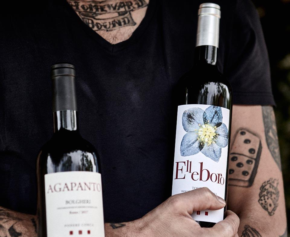 Podere Conca Bolgheri Elleboro vini bianchi toscani
