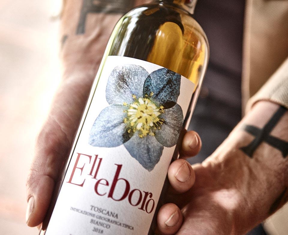 Podere Conca Bolgheri Vino bianco per aperitivo Elleboro