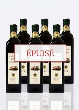 6 bouteilles 075 huile olive extra vierge BIO IGP Toscane épuisé