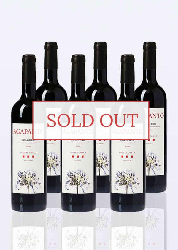 agapanto bolgheri red doc 6 bottle sold out