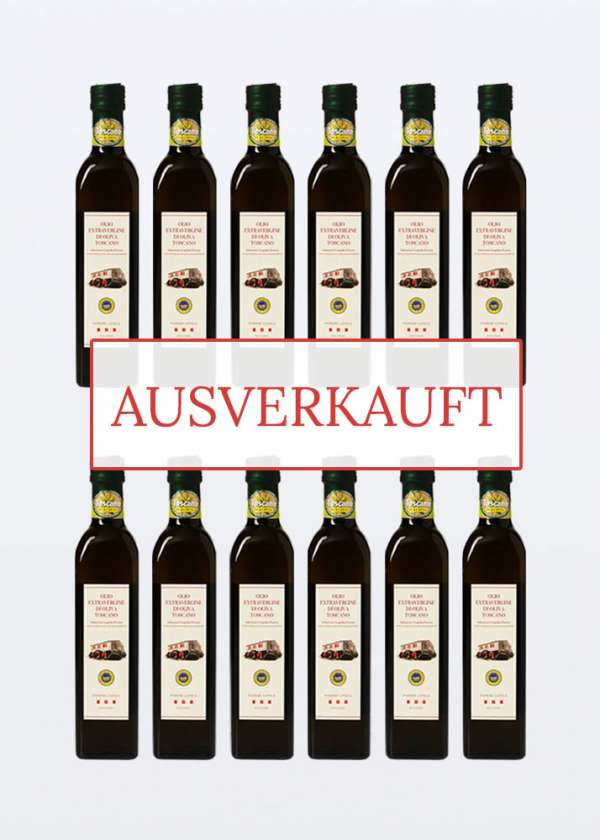 nativem Olivenöl extra igp toscano 0,50lt 12 Flaschen ausverkauft