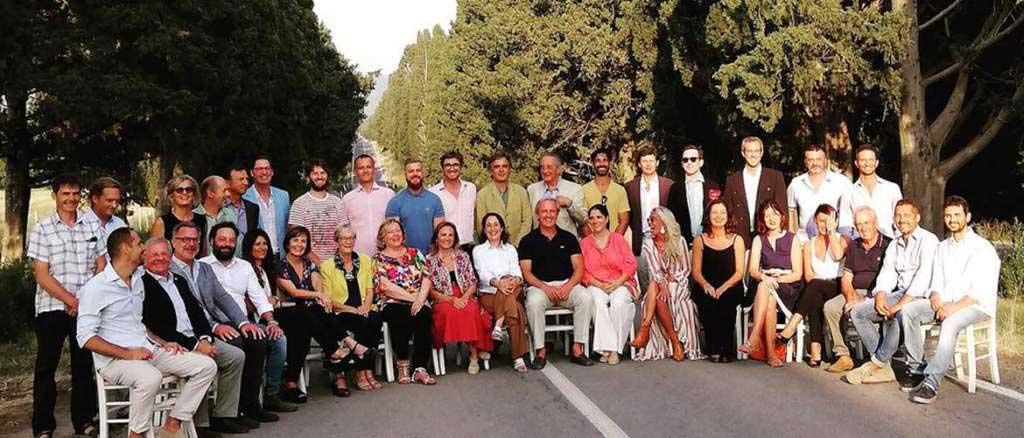 Podere Conca 25 anni della DOC Bolgheri foto di gruppo degli invitati