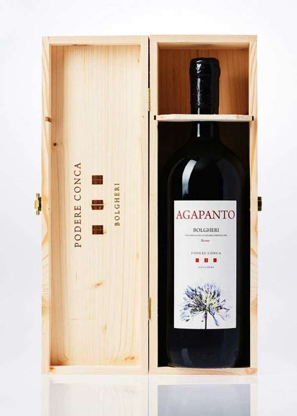 Bottiglia di Magnum Agapanto Bolgheri DOC rosso