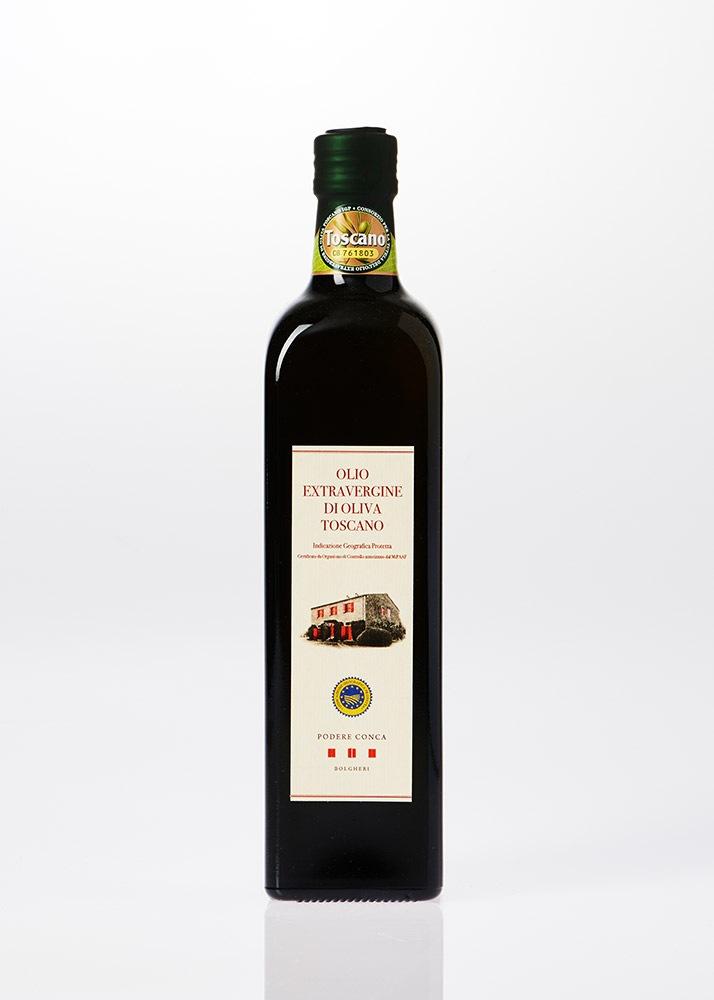 Bottiglia di Olio Extra vergine di oliva IGP Toscano da 0,75 litri