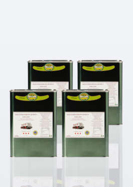 4 latte da 3 litri di olio extra vergine di oliva IGP toscano