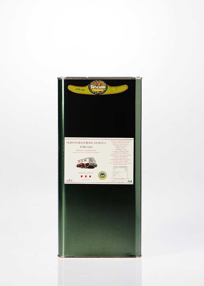 Bottiglia di Olio Extra vergine di oliva IGP Toscano da 5 litri