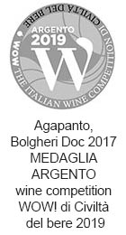 Podere-Conca-Bolgheri-WOW-medaglia-argento-2019-Agapanto