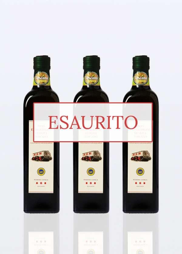olio extra vergine oliva igp toscano 0,75lt 3 bottiglie esaurito