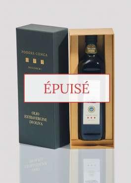 Boîte-cadeau huile olive extra vierge BIO IGP Toscane épuisé