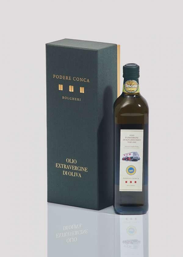 Boîte-cadeau huile olive extra vierge BIO Toscane