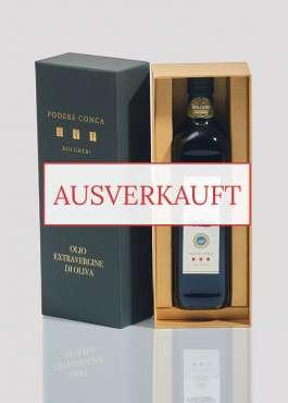 Geschenkpackung nativem Olivenöl extra igp toscano ausverkauft