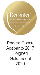 Podere-Conca-Agapanto-2017-Bolgheri-Gold-medal-2020