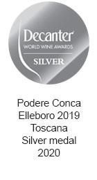 Podere-Conca-Elleboro-2019-Toscana-Silver-medal-2020