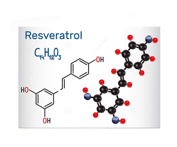 Formula chimica del resveratrolo