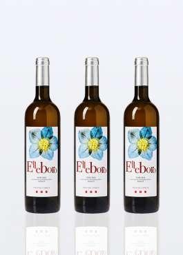 3 bouteilles de Vin Blanc IGT Toscan Elleboro