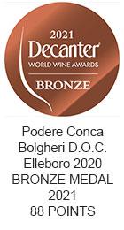 BRONZE MEDAL 2021 Elleboro 2020